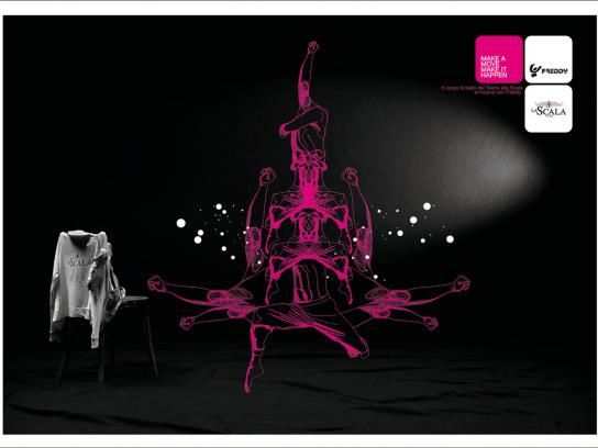 Freddy Print Ad -  La Scala, 1