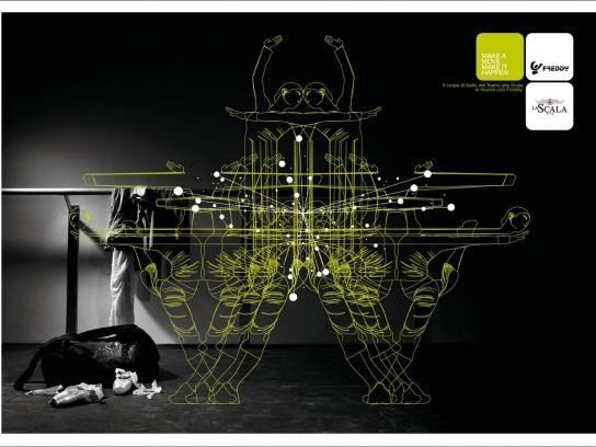 Freddy Print Ad -  La Scala, 2