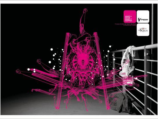 Freddy Print Ad -  La Scala, 3
