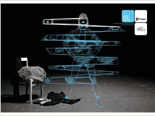 Freddy Print Ad -  La Scala, 4