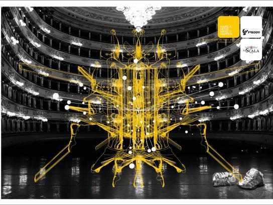 Freddy Print Ad -  La Scala, 5