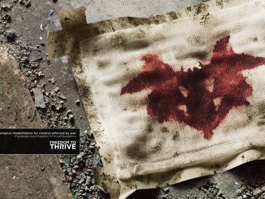 Freedom to Thrive Foundation Print Ad -  Rorschach