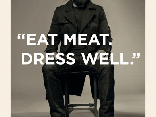 French Connection Print Ad -  Eat meat