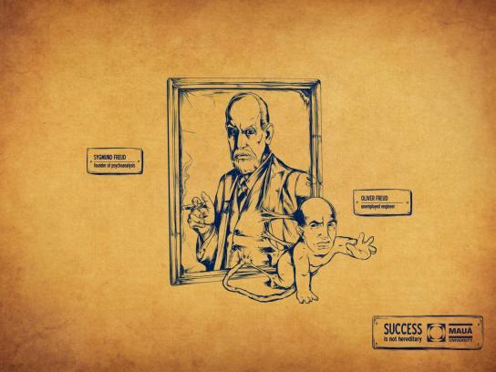 Instituto Mauà De Tecnologia Print Ad -  Freud