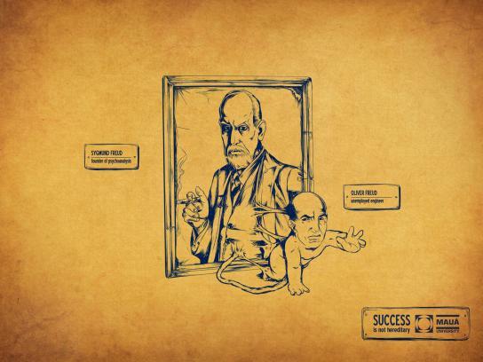 Maua University Print Ad -  Freud