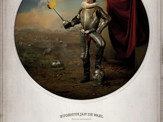 Frico Print Ad -  Swordman