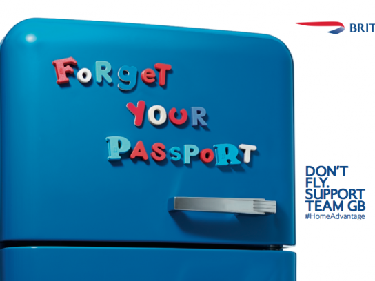 British Airways Print Ad -  Fridge