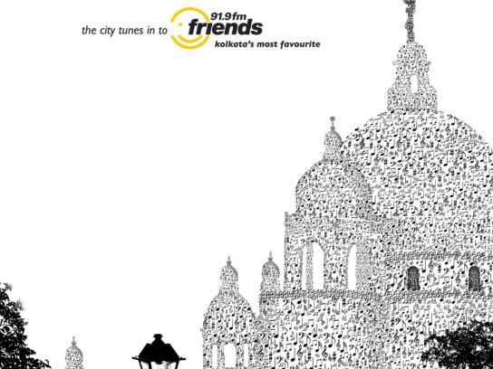 Friends 91.9 fm Print Ad -  Victoria