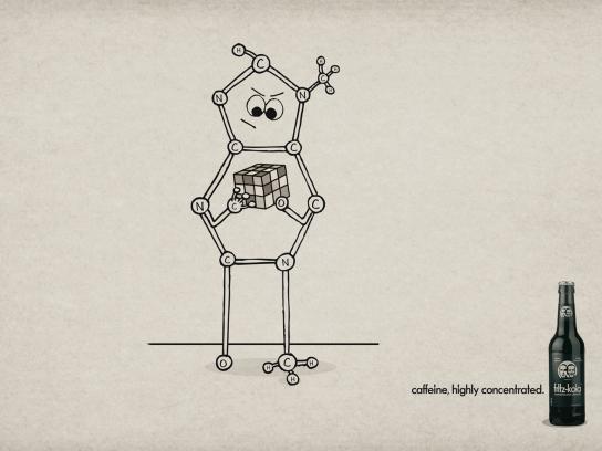 Fritz-kola Print Ad -  Cube