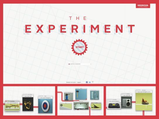Honda Digital Ad -  The Experiment