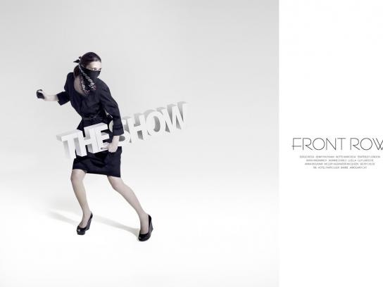 Front Row Print Ad -  Steal the show, 2