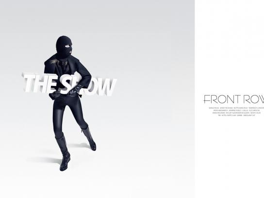 Front Row Print Ad -  Steal the show, 3