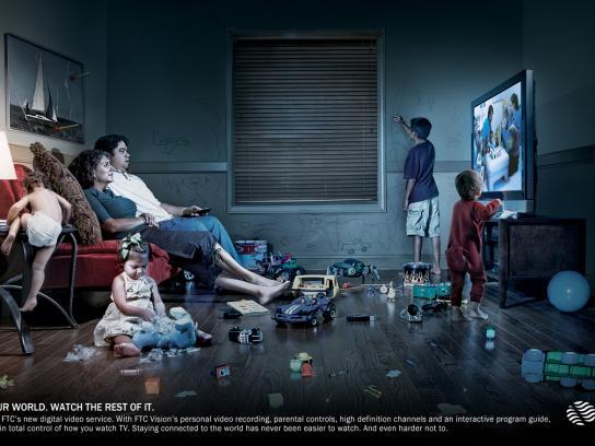 FTC Vision Print Ad -  Kids