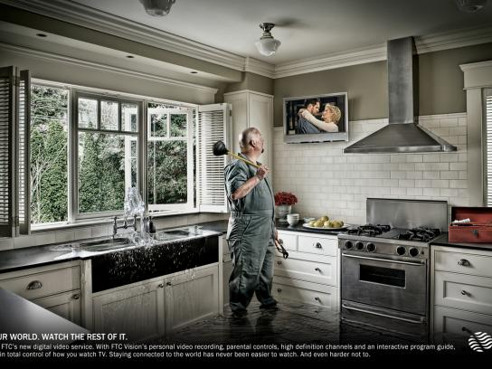 FTC Vision Print Ad -  Water