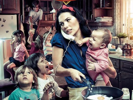 Ajuda de Mãe Print Ad -  Fairy tale