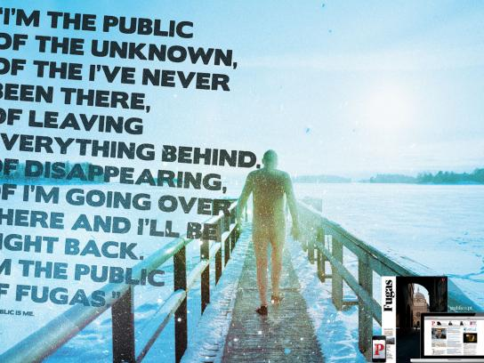 Público Print Ad -  The public is me, 1