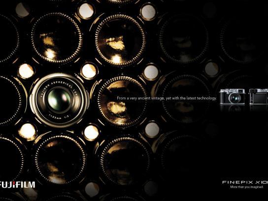 Fuji Print Ad -  Wine