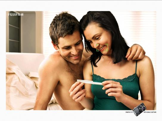 Fuji Print Ad -  Pregnancy Test