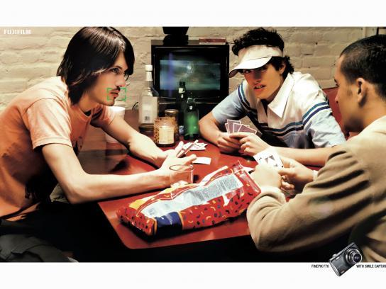 Fuji Print Ad -  Poker