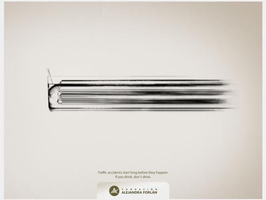 Fundación Alejandra Forlán Print Ad -  Drift