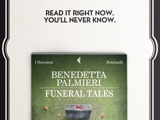 Feltrinelli Print Ad -  Obituary notice