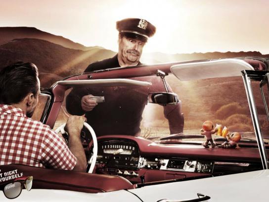 Funk Print Ad -  Police