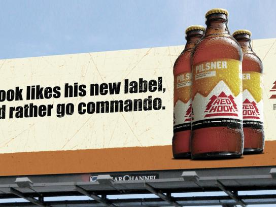 Redhook Outdoor Ad -  Commando