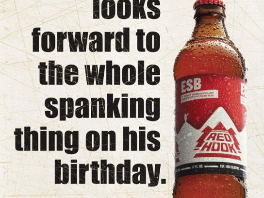 Redhook Print Ad -  Birthday