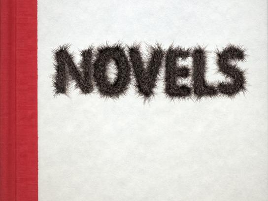 Mitchell Eye Centre Print Ad -  Novels