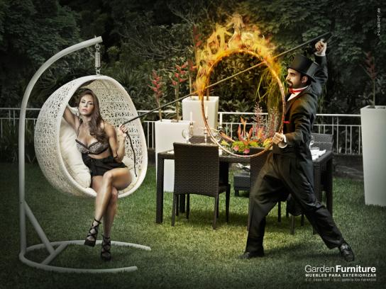 Garden Furniture Print Ad -  Trainer