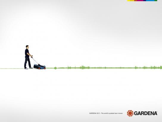 Gardena Print Ad -  Quiet