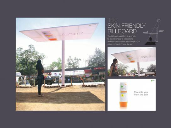 Garnier Outdoor Ad -  Shade