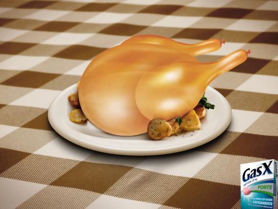 GasX Print Ad -  Chicken