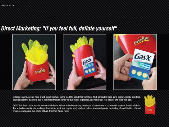 GasX Direct Ad -  Fries