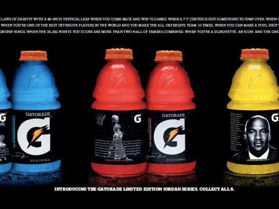 Gatorade Print Advert By Tbwa Jordan Magazine Cover Ads