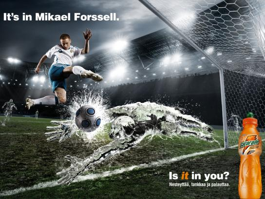 Gatorade Print Ad -  Mikael, 1