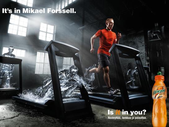 Gatorade Print Ad -  Mikael, 2