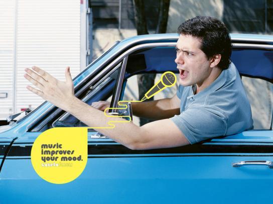 Gazeta FM Print Ad -  Driver