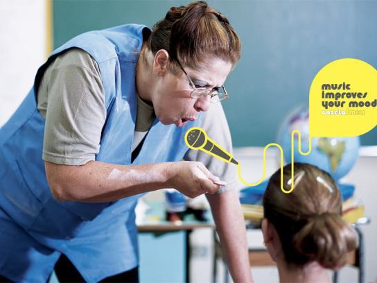 Gazeta FM Print Ad -  Teacher