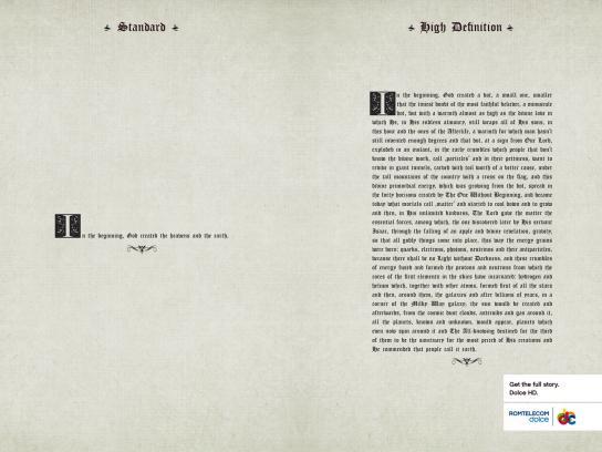 Romtelecom Print Ad -  Genesis