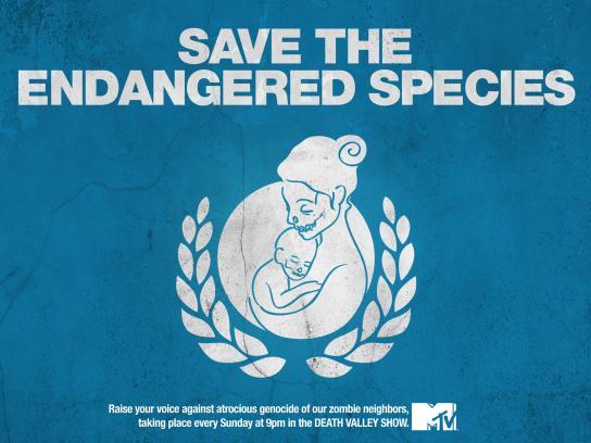 MTV Print Ad -  Genocide