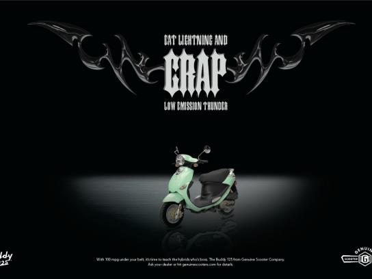 Genuine Scooter Print Ad -  Crap