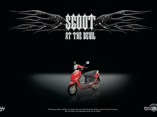 Genuine Scooter Print Ad -  Scoot