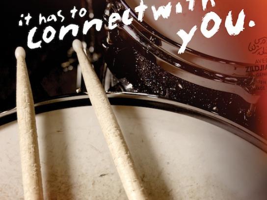 Zildjian Print Ad -  Drumstick