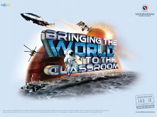 Sadhbhavana World School Print Ad -  Geography