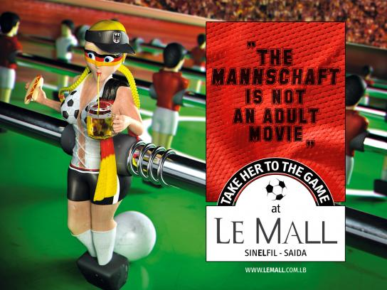 Le Mall Print Ad -  Germany