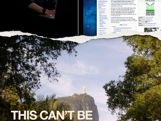 City of Rio de Janeiro Print Ad -  This can't be downloaded