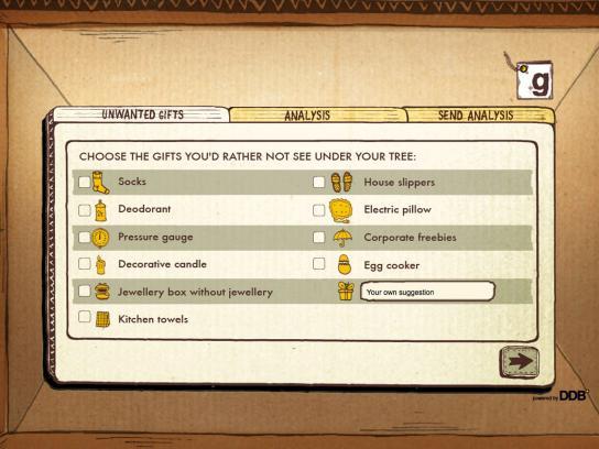 DDB Digital Ad -  Giftadvisor