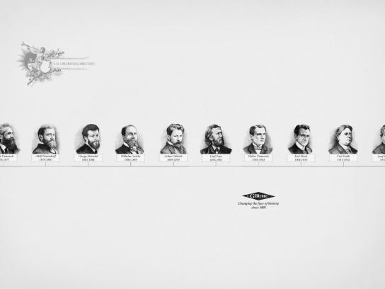 Gillette Print Ad -  True Stories, U.S. Orchestra Directors