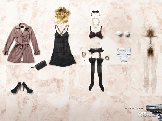 Gillette Print Ad -  Woman